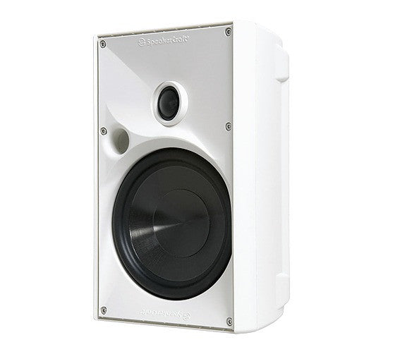 "SpeakerCraft ASM80611 OE6 One 6.25"" Outdoor Speaker - White (Each)"