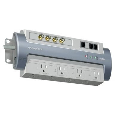Panamax M8-AV MAX 8-Outlet Power line conditioner and surge protector