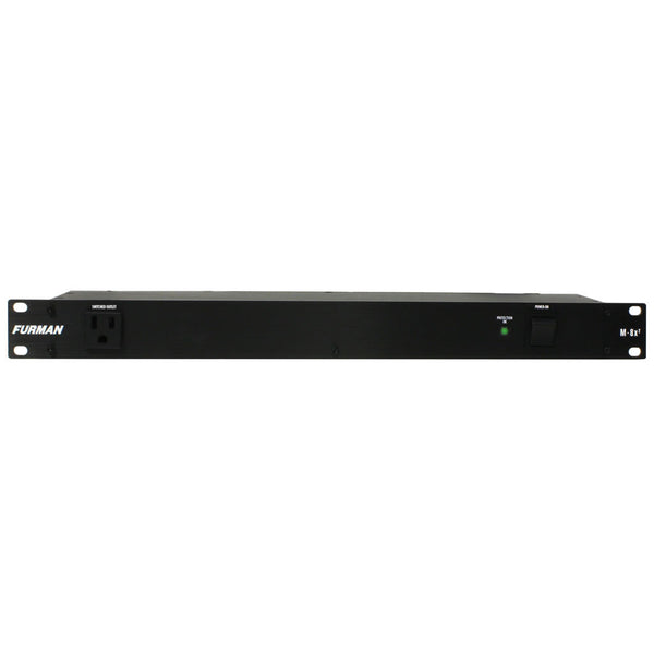 Panamax M-8X2 15A Standard Power Conditioner, 1RU Rack Unit Space, 6FT Cord
