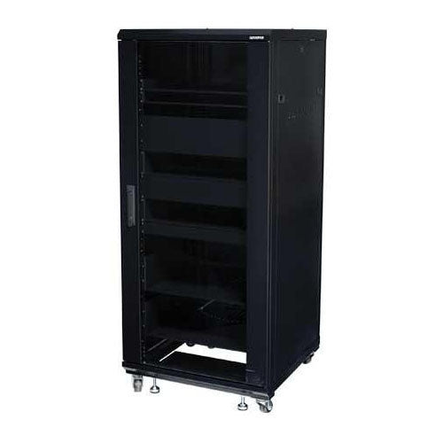 "Sanus CFR2127 27U Component Foundations, 55"" Tall AV Rack"