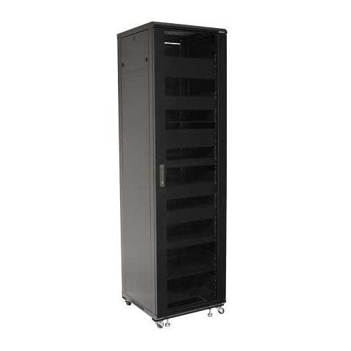 "Sanus CFR2144 44U Component Foundations, 84.75"" Tall AV Rack"