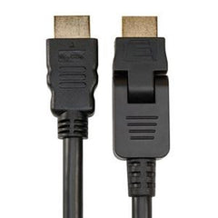 Sanus 3.3' Pivoting HDMI Cable; Pivot Connector and Flexible Cable