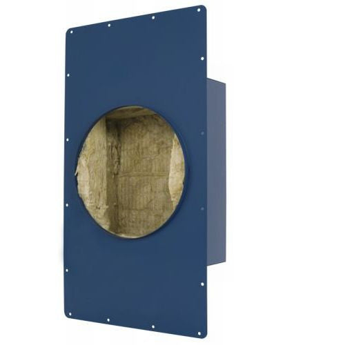 "SpeakerCraft ASM70800 AIM Wide 8"" Deep Round Sound Enclosure with Extension Wing Clips (Each)"