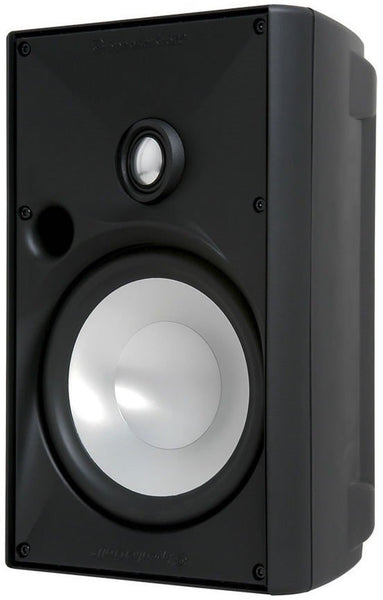 "Speakercraft ASM80636 OE6 Three 6.25"" Outdoor Speaker - Black (Each)"