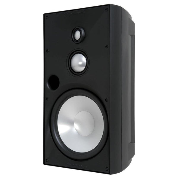 "SpeakerCraft ASM80836 OE8 Three 8"" Outdoor Speaker - Black (Each)"