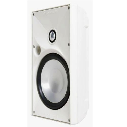 "SpeakerCraft ASM80631 OE6 Three 6.25"" Outdoor Speaker - White (Each)"