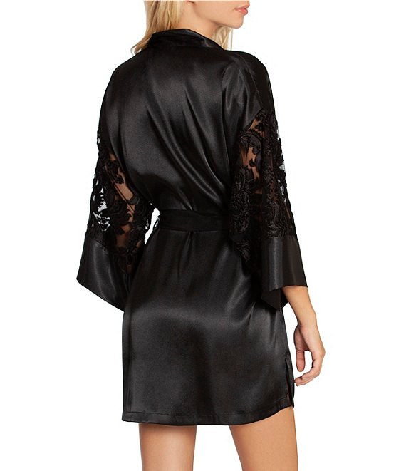 SVR030 Black Burnt Out Robe