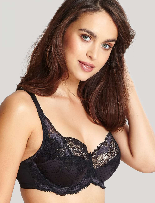 7255 Clara Full Cup Bra |CHARCOAL/BLACK|