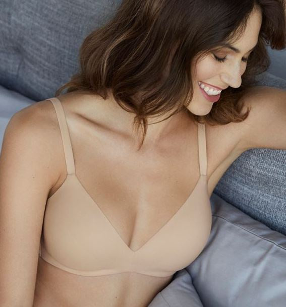 852189 How Perfect Wire Free T-Shirt Bra |NATURAL NUDE| (NN)