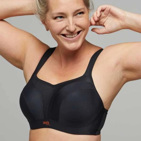 5021 Panache Wired Sports Bra (Black)