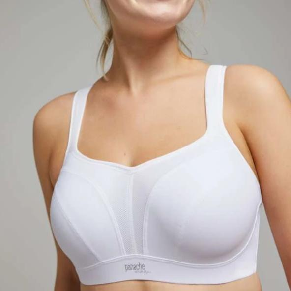 5021 Panache Wired Sports Bra (White)