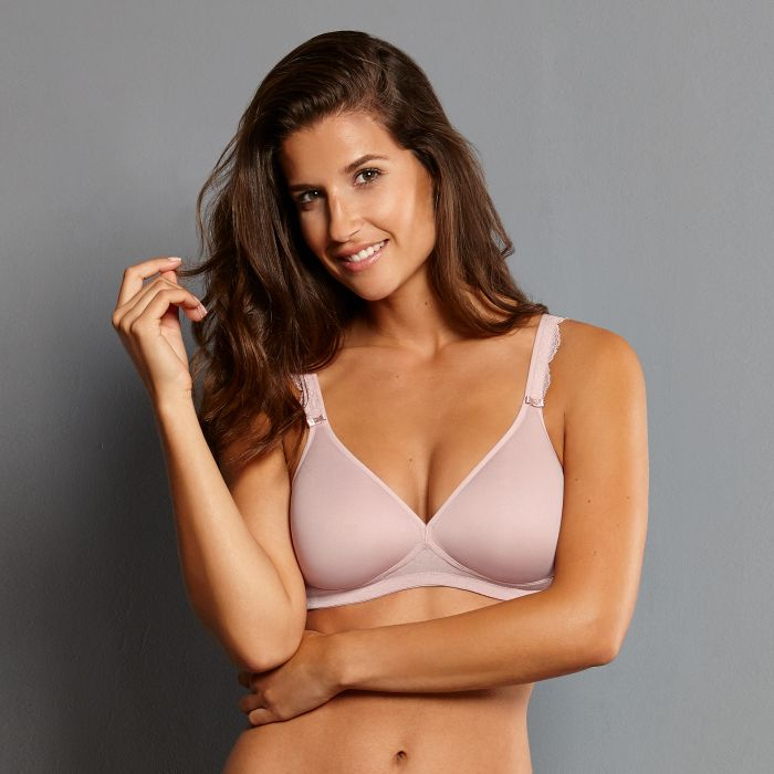 5631 Selma Soft Bra with Spacer Cups |ROSEWOOD| (596)