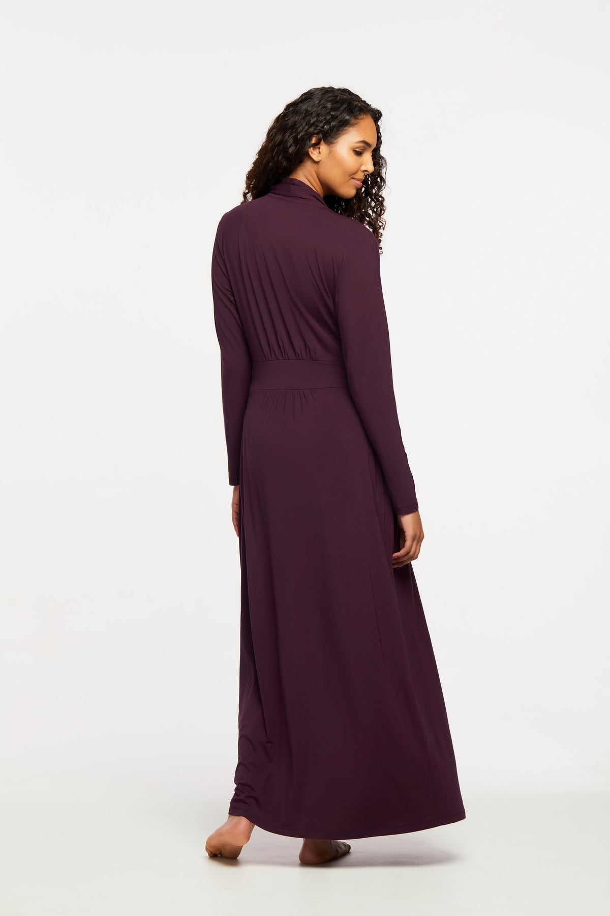 621 Long Robe |DARK PANSY|
