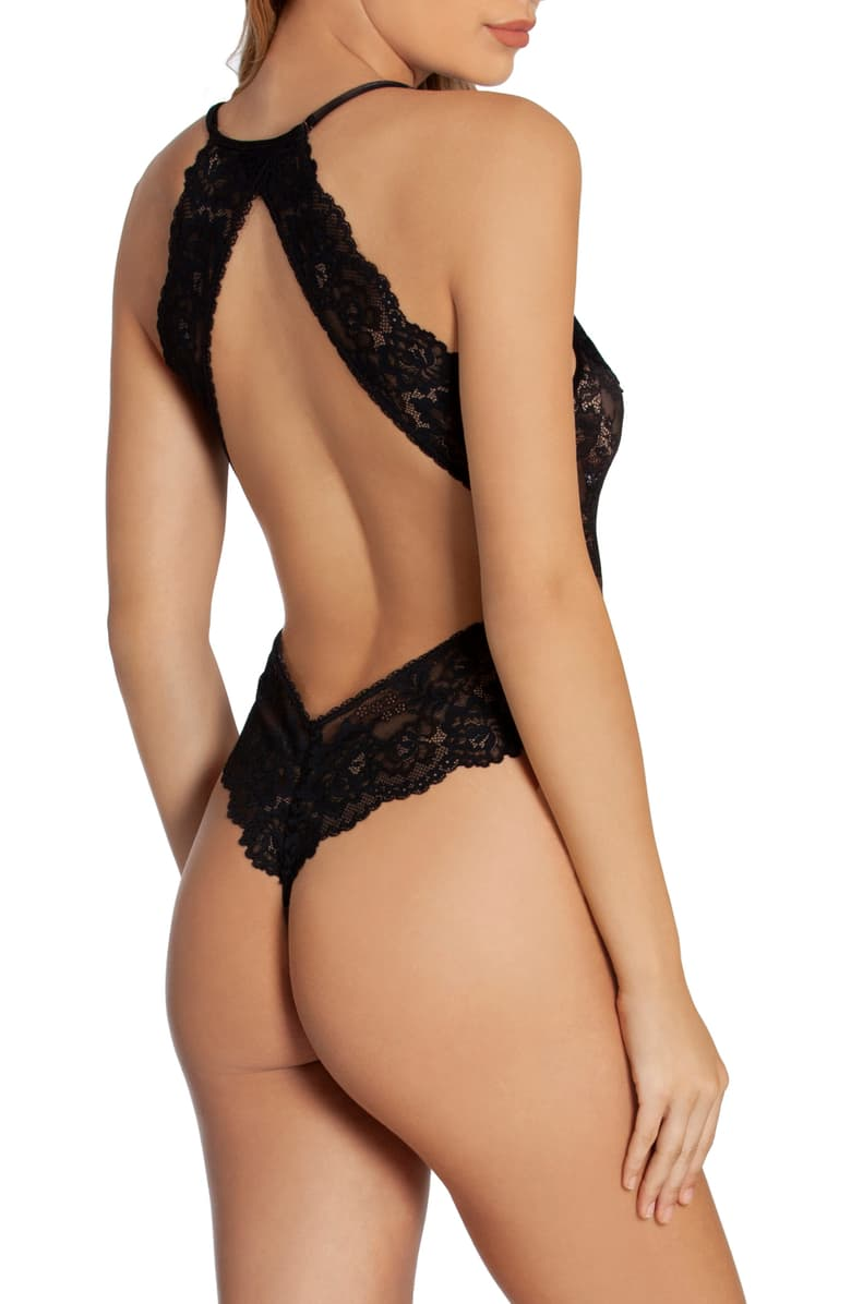 MGC097 Black Lace Teddy