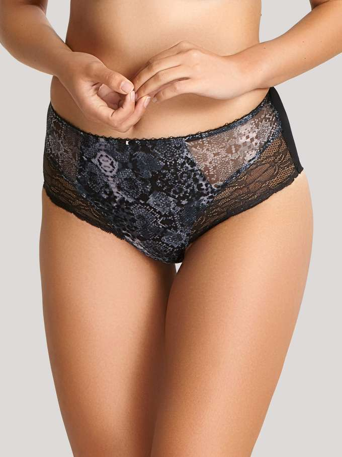 6954 Jasmine Deep Brief |SNAKE PRINT|