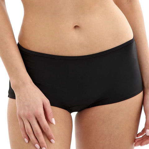 PAS0889 Anya Swim Short |BLACK|