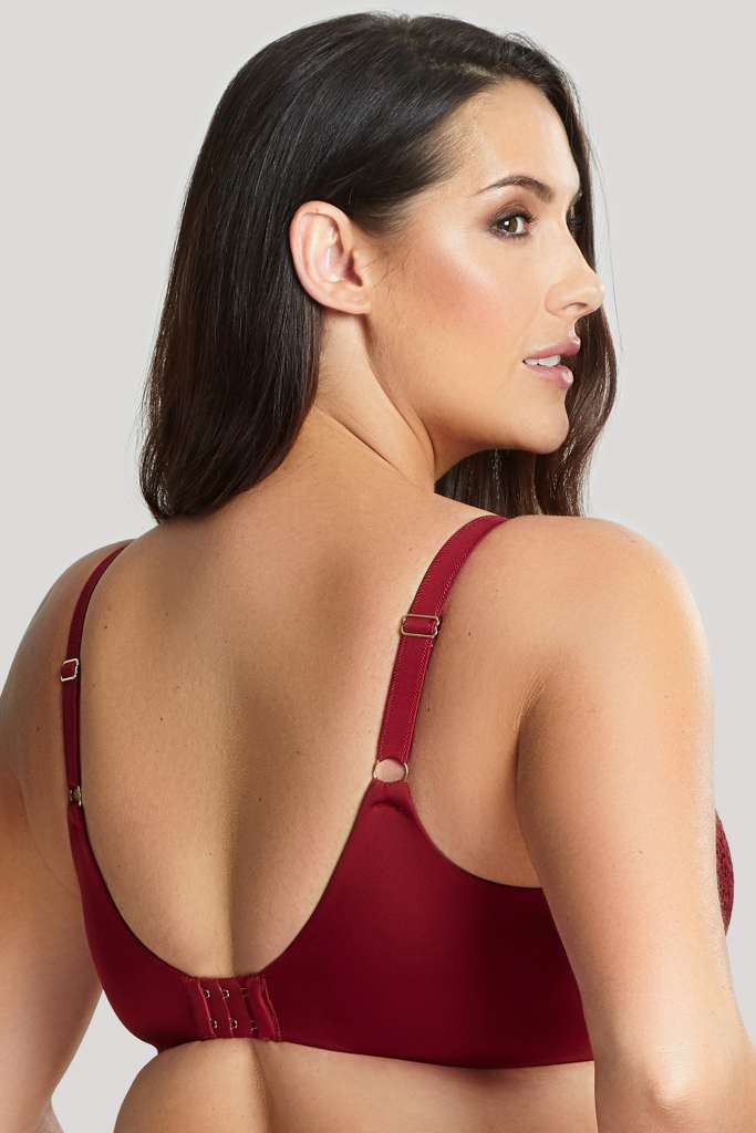 9685 Estel Full Cup Bra |BURNT RED|