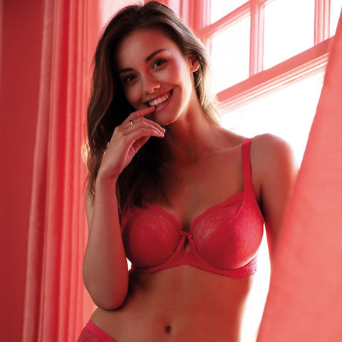 AA1011SCL Freya Fancies UW Plunge Bra |SUGAR CORAL|