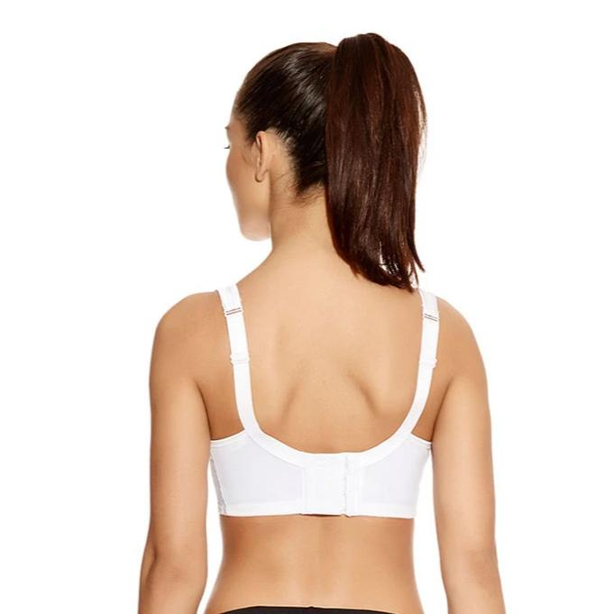Core Underwire Sports Bra (White)