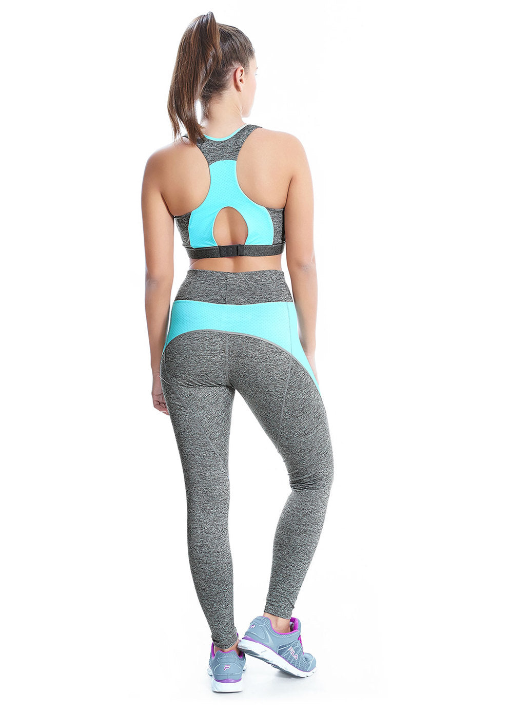 AA4010CON Freestyle Soft Crop Top |CARBON|