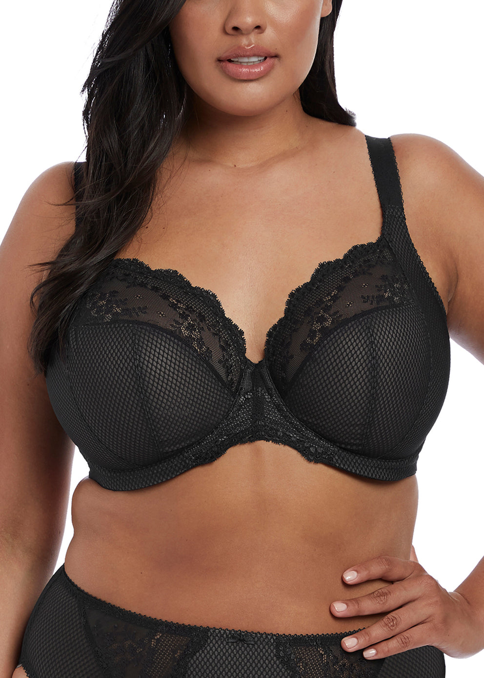 EL4382BLK Charley UW Plunge - Stretch |BLACK|