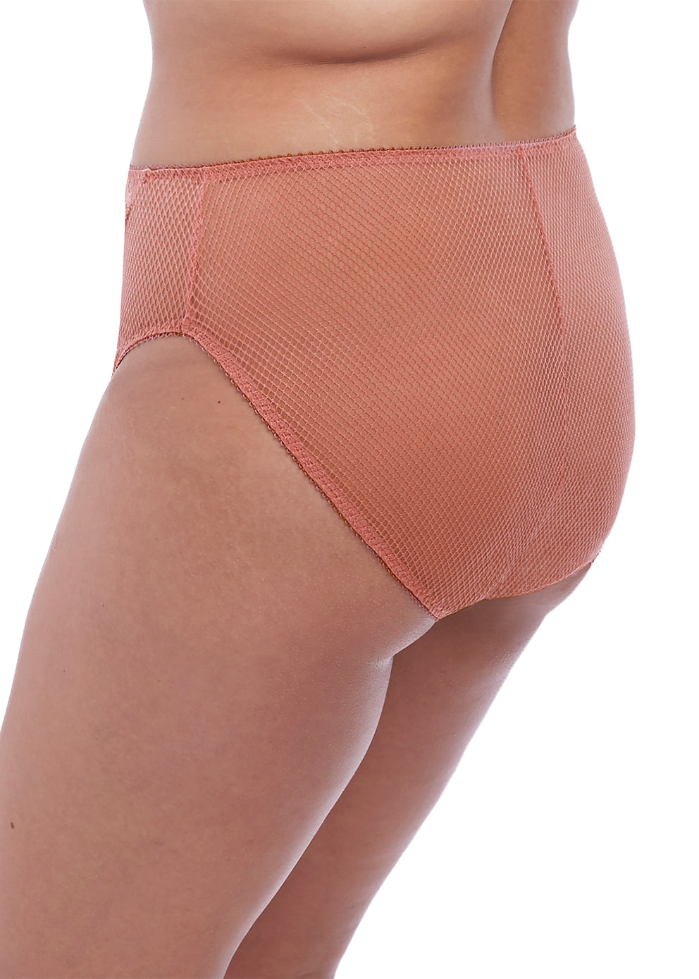 EL4386ROD Charley High Leg Brief |ROSE GOLD|