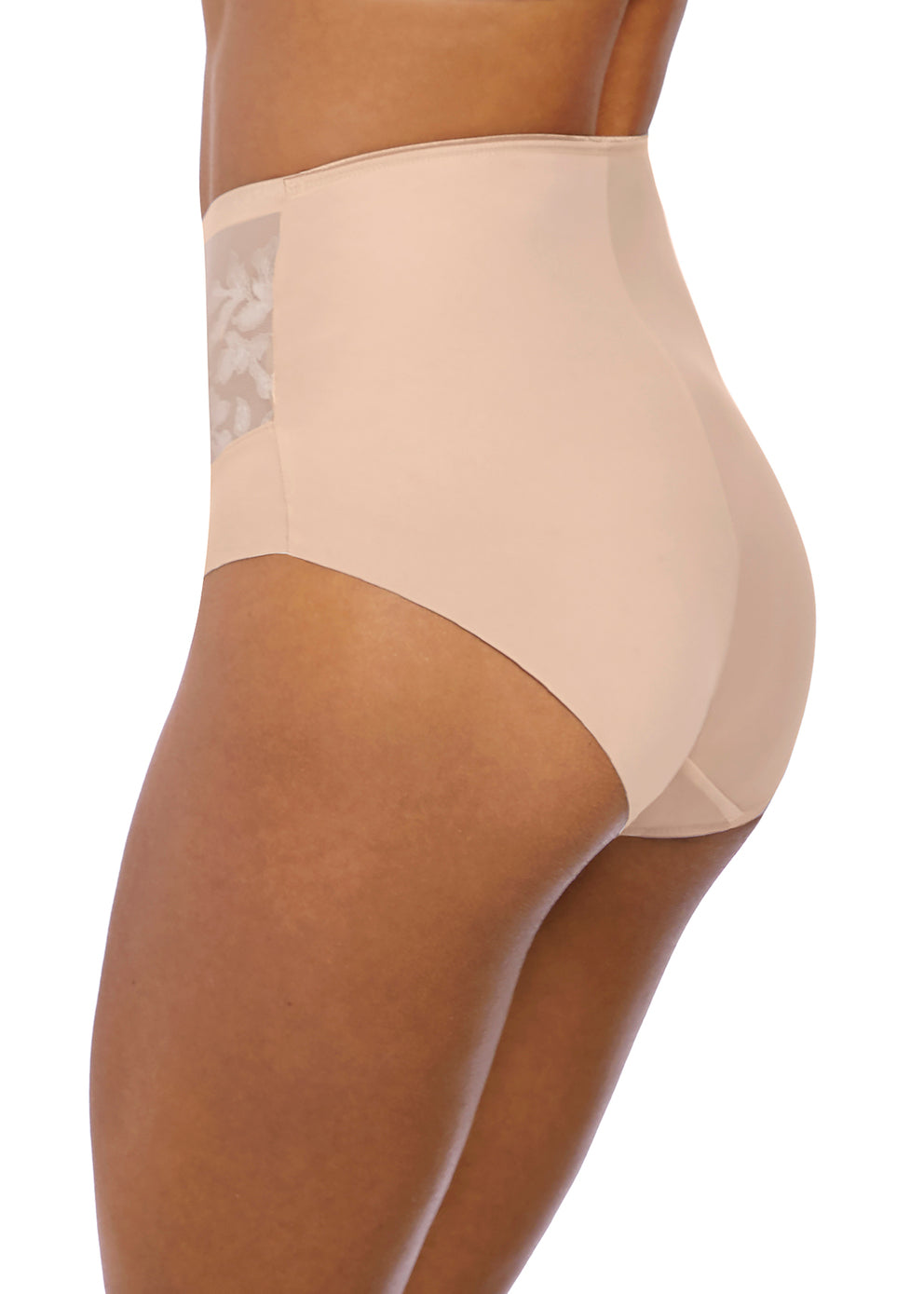 FL2988NAE Illusion High Waist Brief |NATURAL BEIGE|