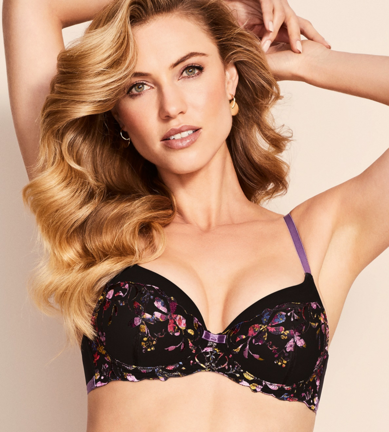 90589 Meadow Spotlight Push Up Bra