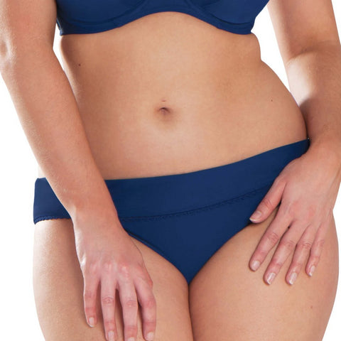 CRVS3525 Jetty Fold Over Swim Brief |NAVY|