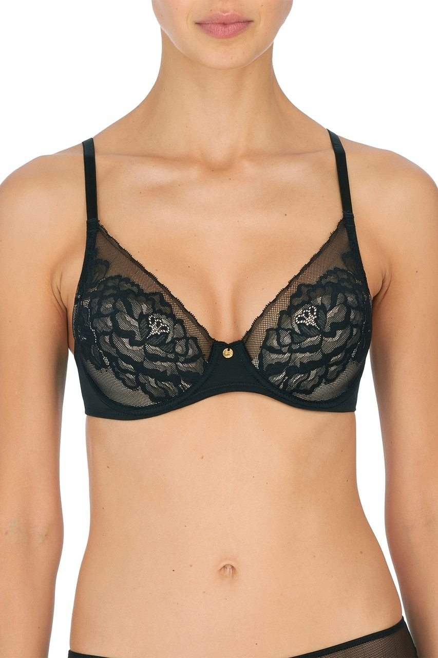721150 Flora Bra |BLACK/LIGHT MOCHA|
