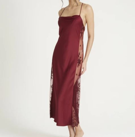 219 Darling Gown |BURGUNDY|