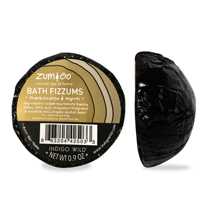 Zum&Go Bath Fizzums - Frankincense and Myrrh