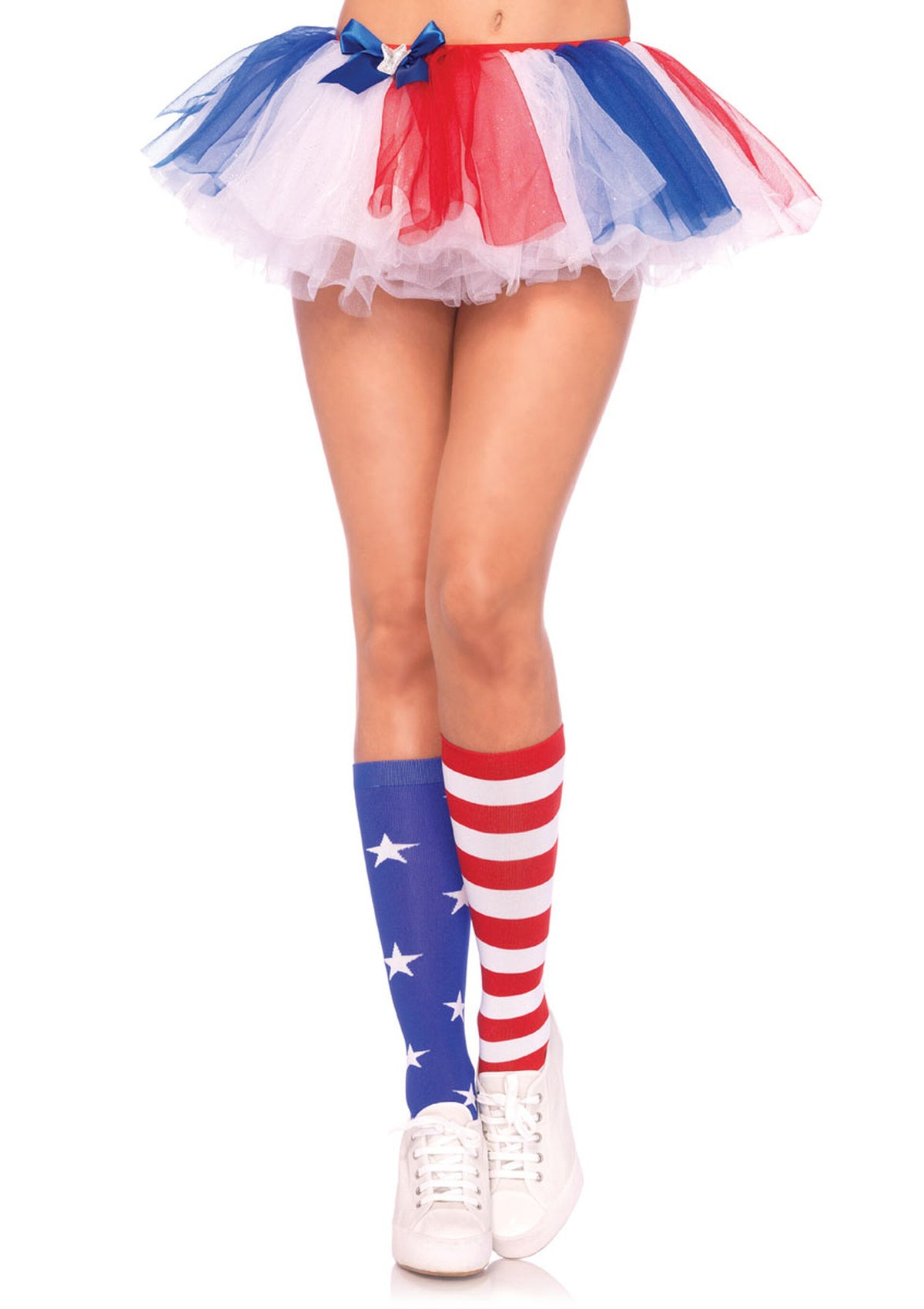 5604 Stars and Stripes Knee High Socks