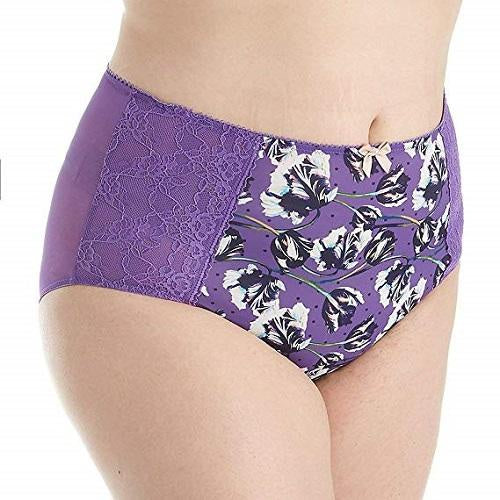 7692 Chi Chi High Waist Brief |TULIP PRINT|