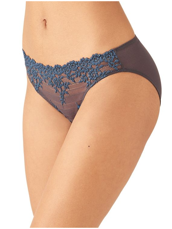 64391 Embrace Lace Bikini |NINE IRON/ENSIGN BLUE| (088)