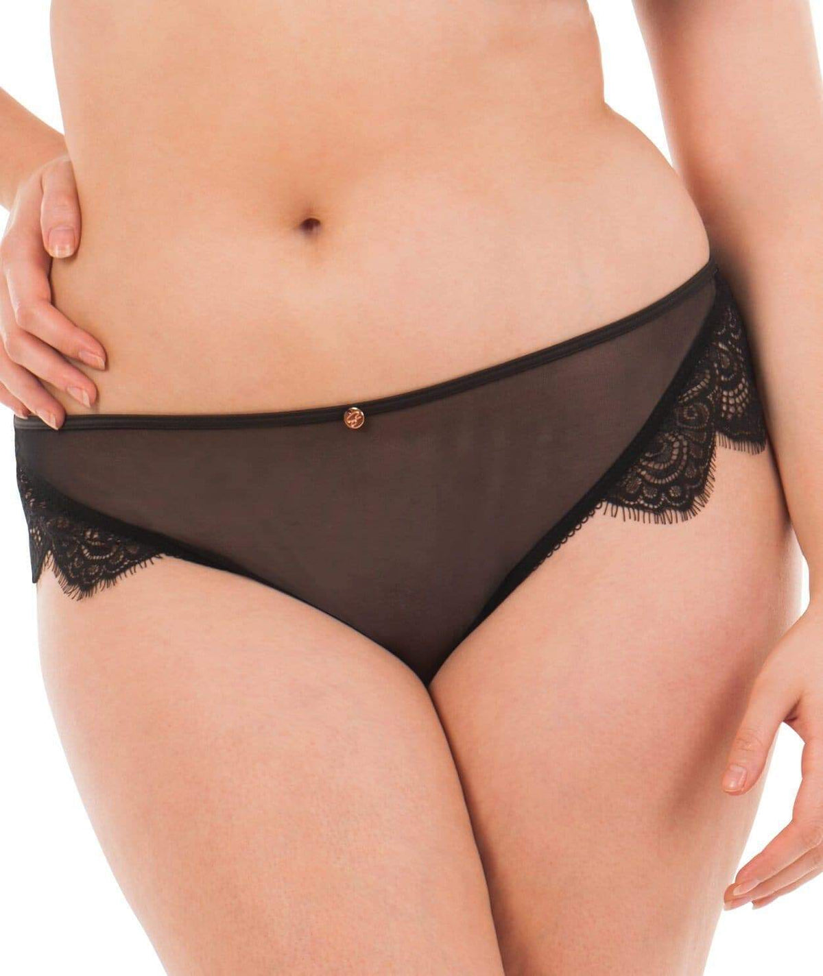 ST3902 Scantilly Intoxicate Thong |BLACK|