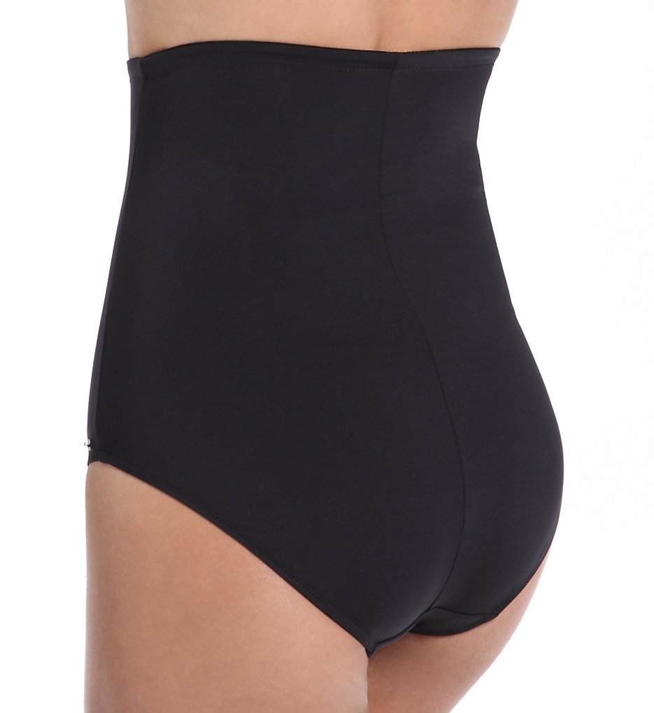 FAS5772BLK Versailles High Waist Brief with Control Lining |BLACK|