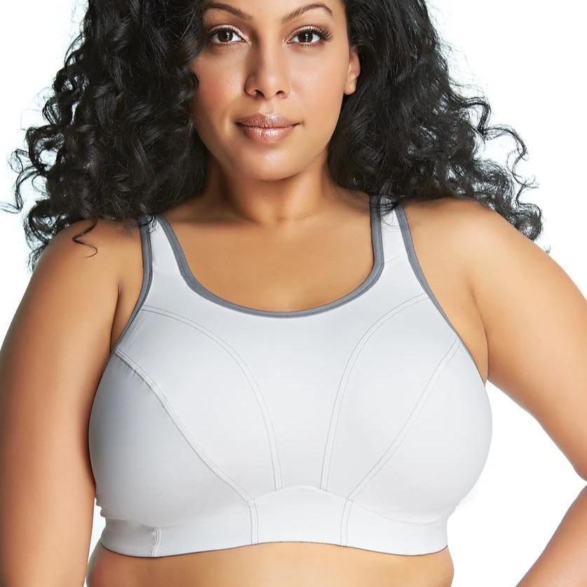 GD6910 Soft Cup Sports Bra (White)