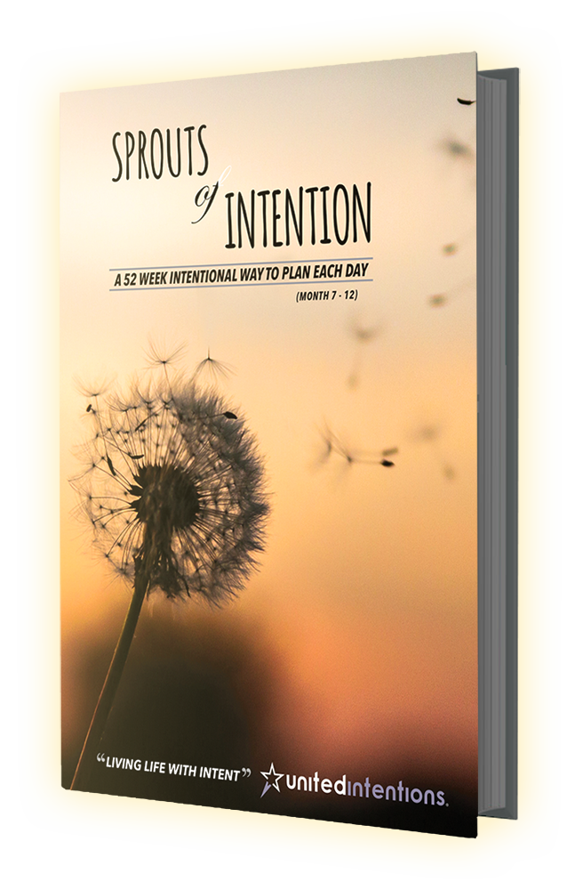 Sprouts of Intention Planner