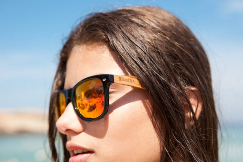 girl wearing sunglasses