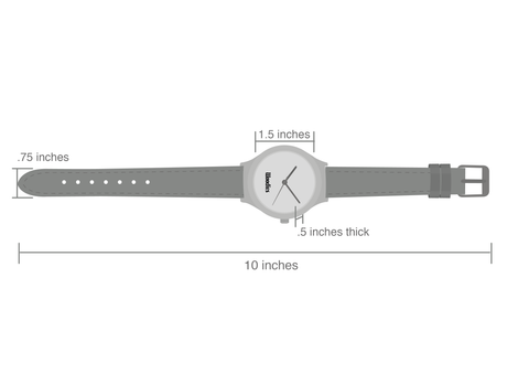 woodies watch measurements