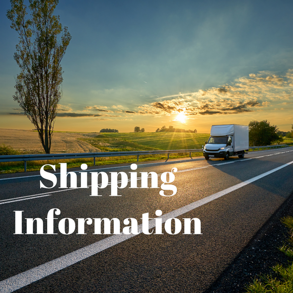 Shipping Information - Nature Reflections
