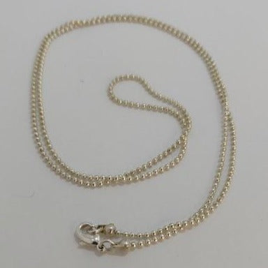 "Silver Plated 24"" Ball Chain for Angel Callers"