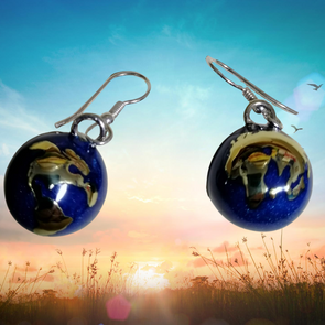 Mother Earth Angel Caller Earrings