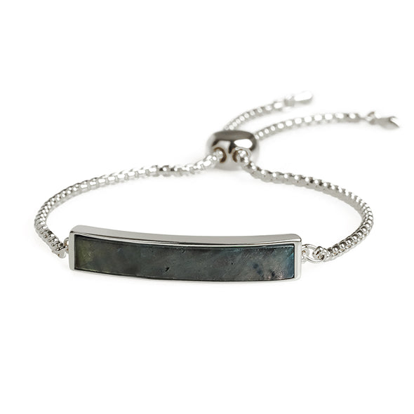 Karen Labradorite Adjustable Bracelet - Nature Reflections