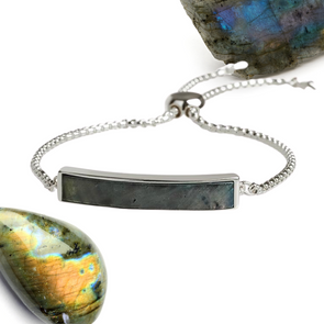 Karen Labradorite Adjustable Bracelet