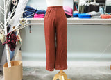 Persimmon Wide Leg Sweater Knit Pant