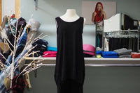 Asymmetrical Black Slip