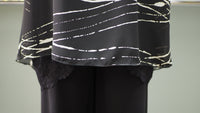 Abstract Sheer Tunic