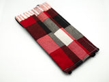 Kids Red and Gray Plaid